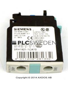 Siemens 3RH1921-1CA10 (3RH19211CA10)