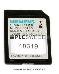 Siemens 6AV6671-1CB00-0AX2 (6AV66711CB000AX2)