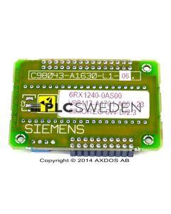 Siemens 6RX1240-0AS00 (6RX12400AS00)