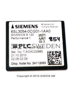 Siemens 6SL3054-0CG01-1AA0 (6SL30540CG011AA0)