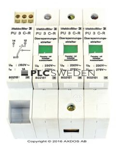 Weidmuller PU 3 C-R (802151)