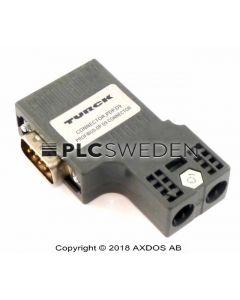 Turck Connector,PDP,D9 (CONNECTORPDPD9)