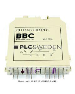 ABB GH R 433 0002 R1 (GHR4330002R1)