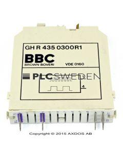 ABB GH R 435 0300R1 (GHR4350300R1)