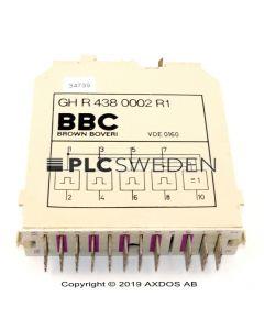 ABB GH R 438 0002 R1 (GHR4380002R1)