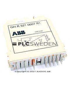 ABB GH R 521 0007 R1 (GHR5210007R1)