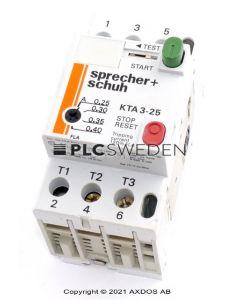 Sprecher + Schuh KTA3-25 (KTA325)