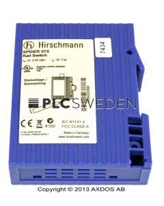 Hirschmann SPIDER 5TX Rail Switch (SPIDER5TX)